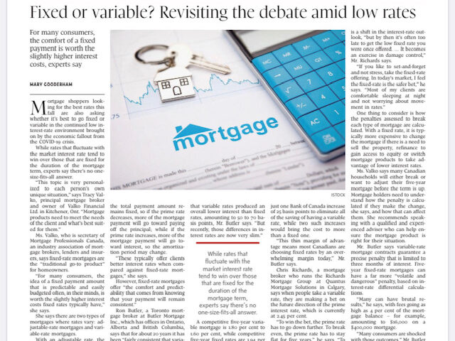 Fixed or variable? Revisiting the debate amid low rates